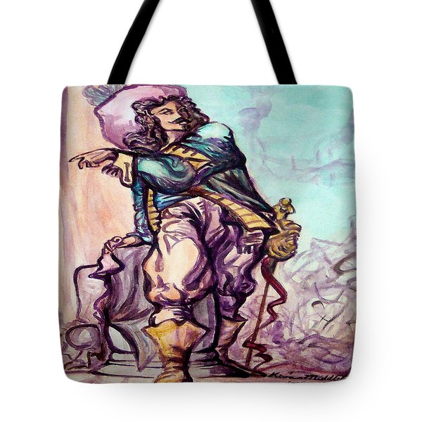 Musketeer Tote Bag by Kevin Middleton
