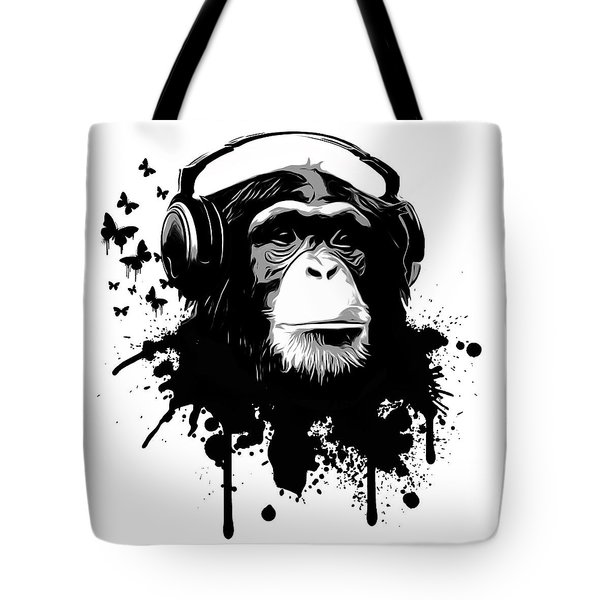 Monkey Business Tote Bag by Nicklas Gustafsson