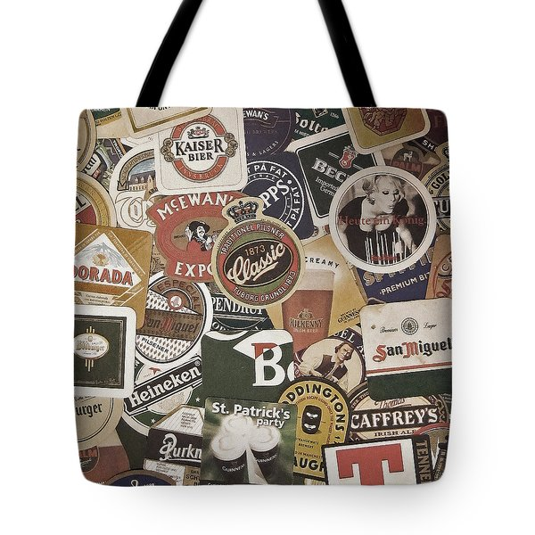Beers Of The World Tote Bag