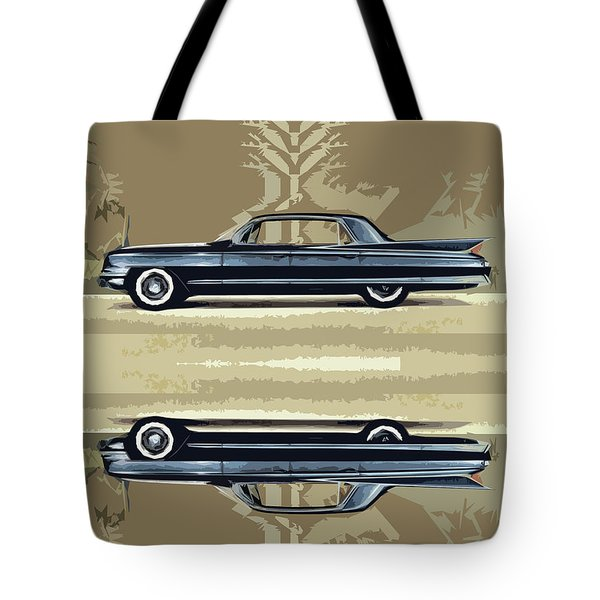 1961 Cadillac Fleetwood Sixty-special Tote Bag by Bruce Stanfield