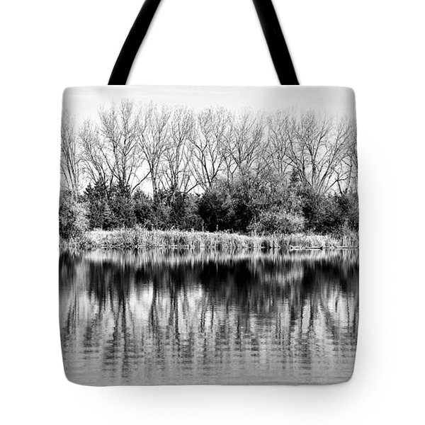 Rippled Reflection Tote Bag by Bill Kesler