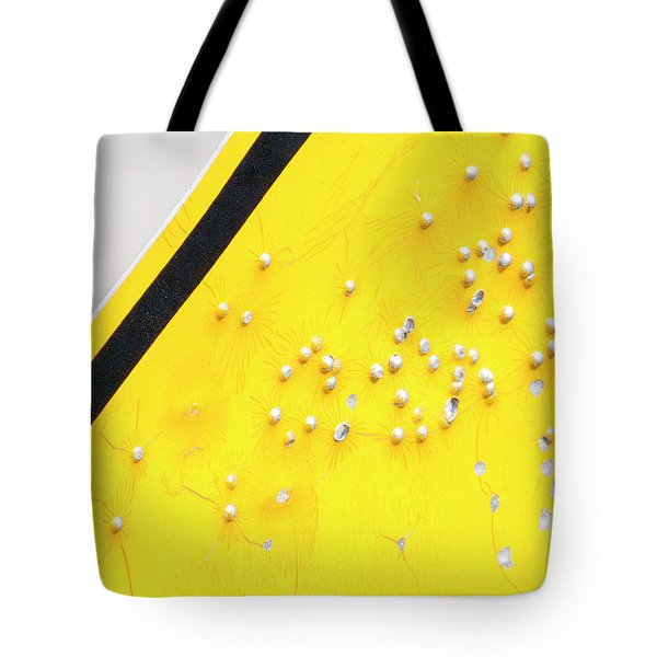 That's Not Braille Tote Bag by Bill Kesler
