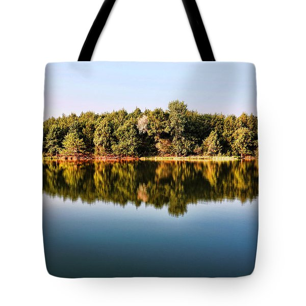 When Nature Reflects Tote Bag