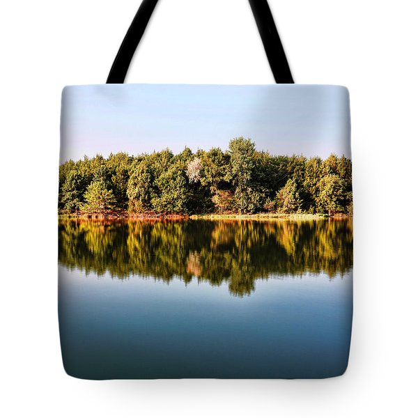 When Nature Reflects Tote Bag by Bill Kesler