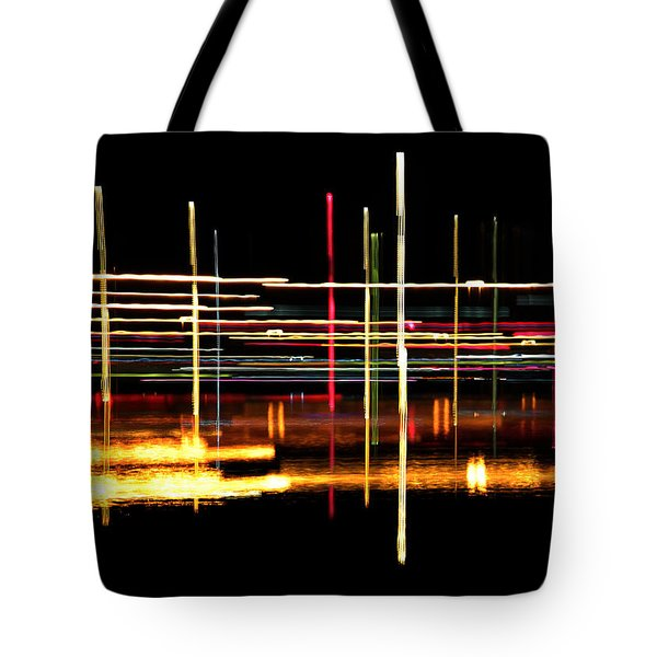 Cosmic Avenues Tote Bag by Bill Kesler