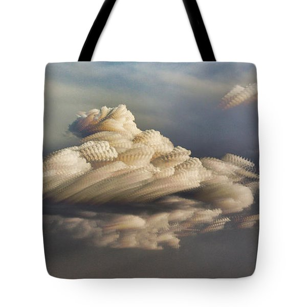 Cupcake In The Cloud Tote Bag by Bill Kesler