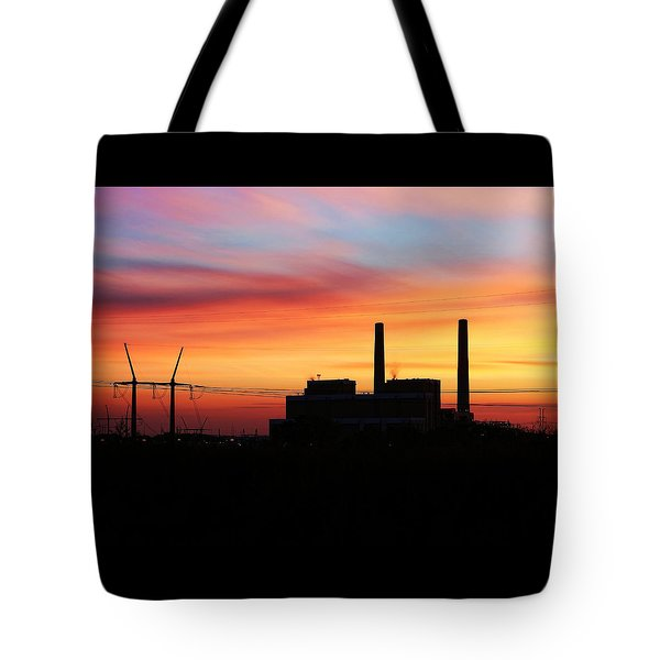 A Gentleman Sunrise Tote Bag by Bill Kesler