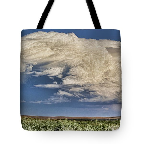 Cloud Brew Tote Bag by Bill Kesler