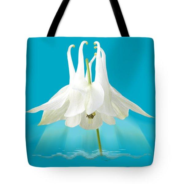 Aquilegia Spotlight Tote Bag