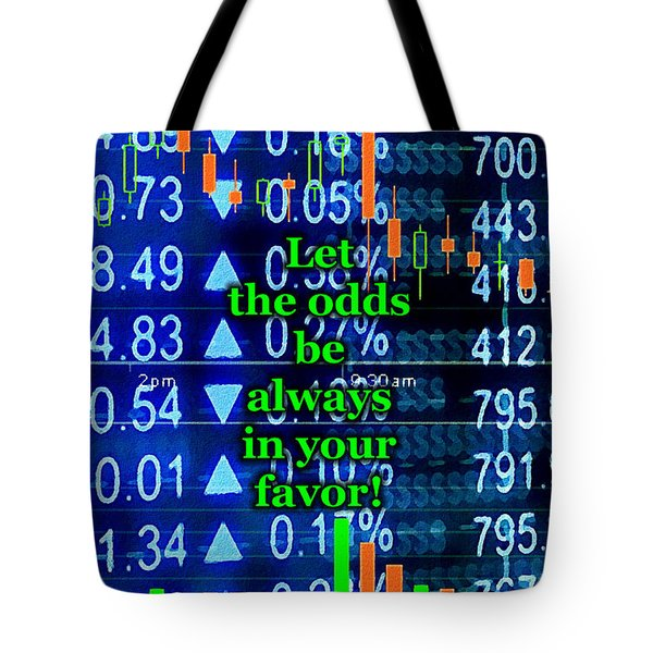 Stock Exchange Tote Bag