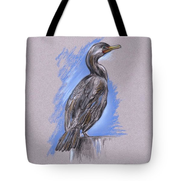 Cormorant Tote Bag by MM Anderson