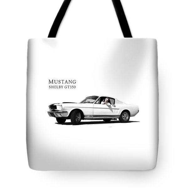 Mustang Shelby Gt 350 Tote Bag by Mark Rogan