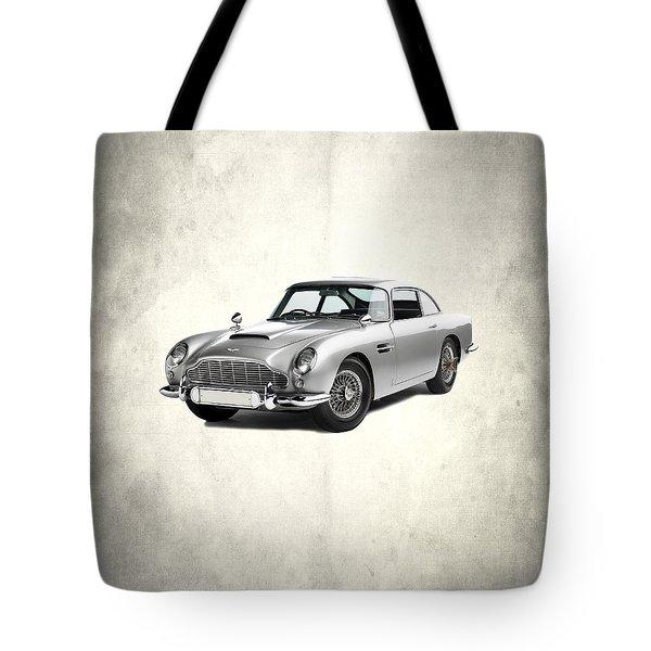 Aston Martin Db5 Tote Bag by Mark Rogan