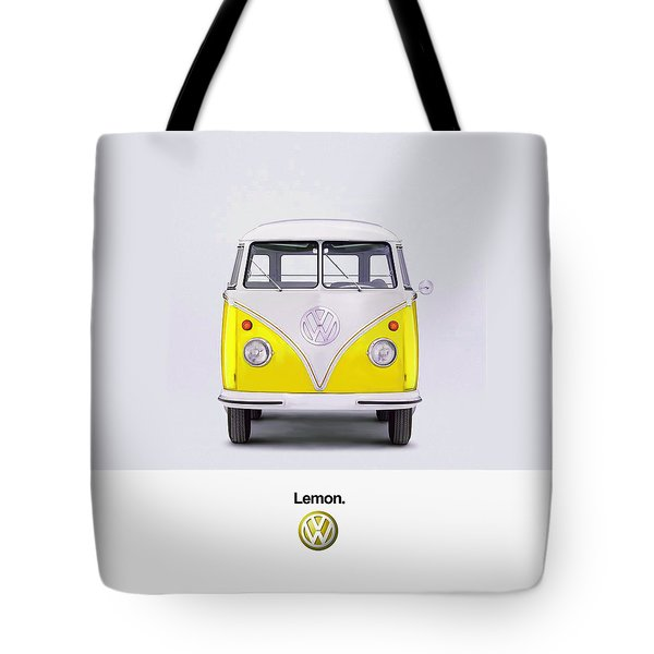 Lemon Tote Bag by Mark Rogan