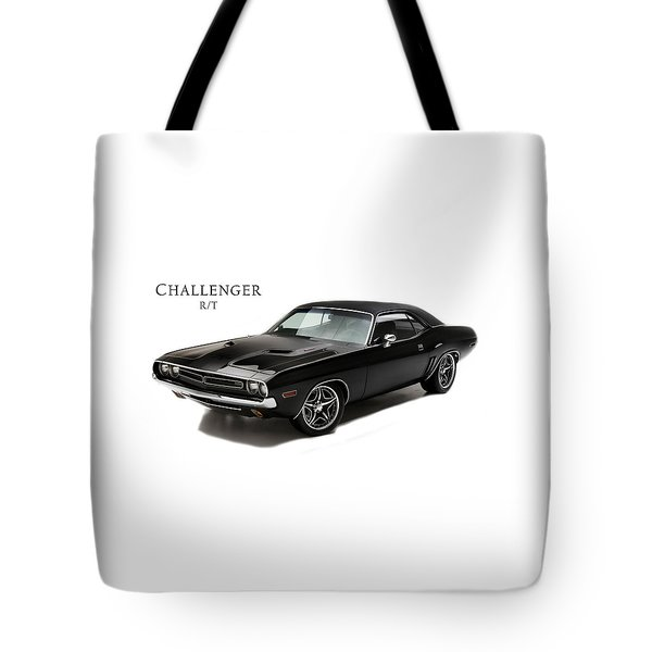 Dodge Challenger Rt Tote Bag by Mark Rogan