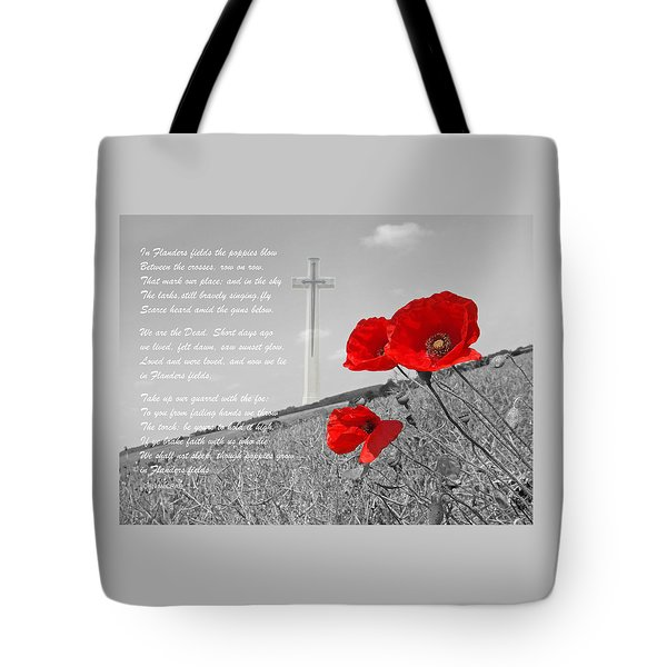 In Flanders Fields Tote Bag