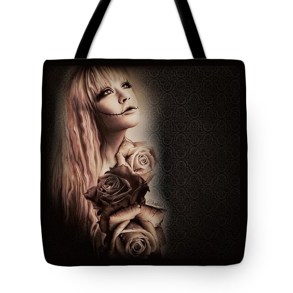 Ebony Tote Bag by Sheena Pike
