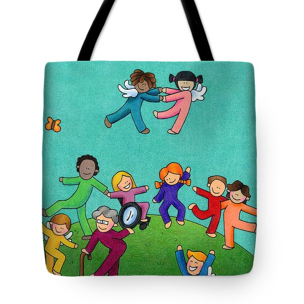 Jubilation Tote Bag by Sarah Batalka