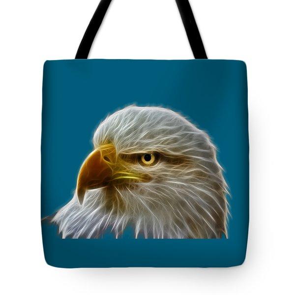 Glowing Eagle Tote Bag