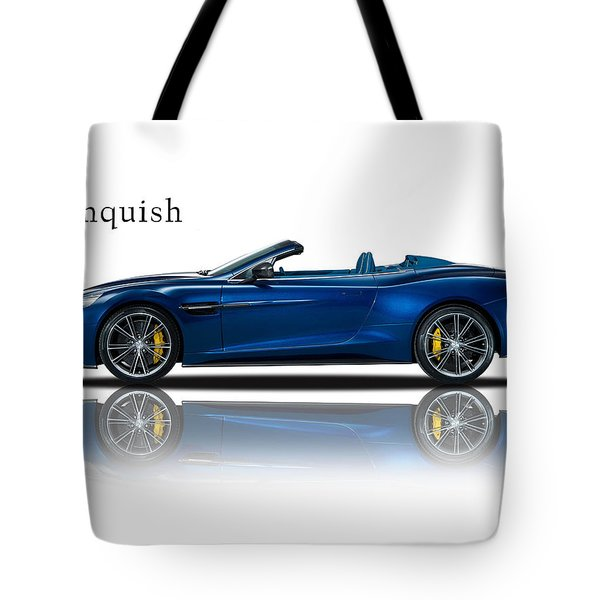 Aston Martin Vanquish Volante Tote Bag