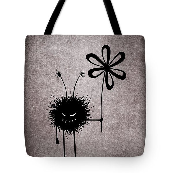 Evil Flower Bug Tote Bag