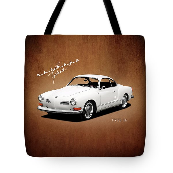 Vw Karmann Ghia Tote Bag