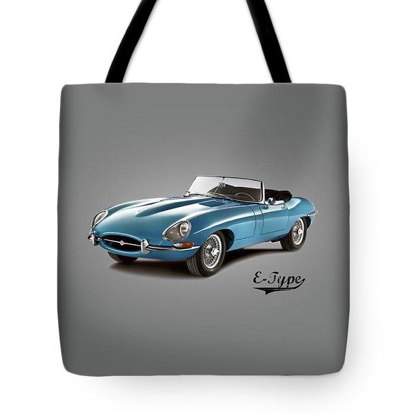 Jaguar E-type Tote Bag