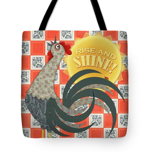 Good Morning Rooster Tote Bag