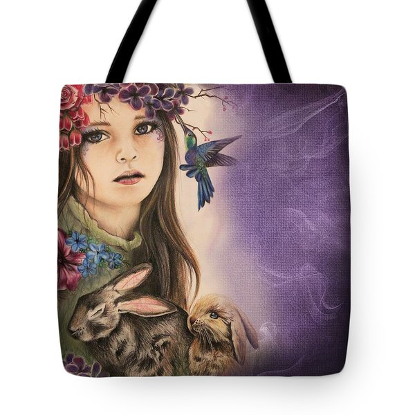 Spring  Tote Bag by Sheena Pike