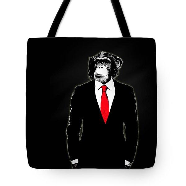 Domesticated Monkey Tote Bag
