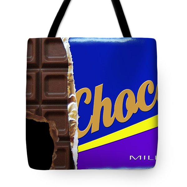 Chocolate Case Tote Bag