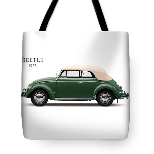 Vw Beetle 1953 Tote Bag