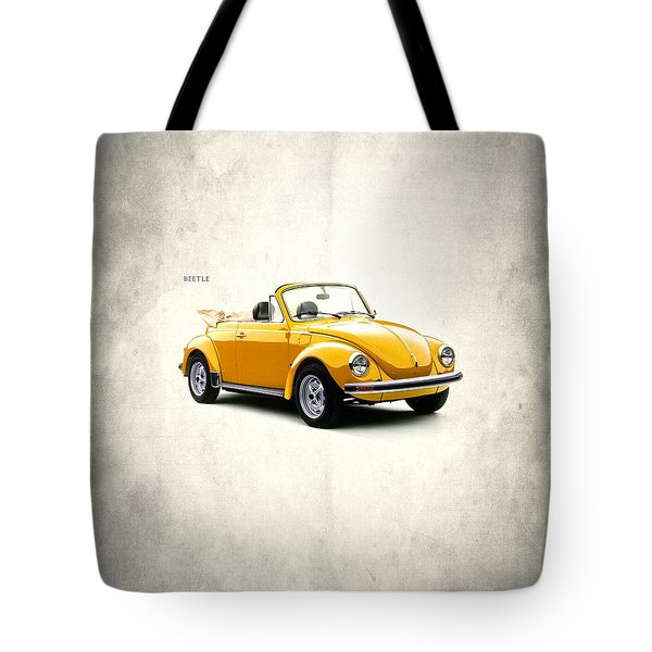 Vw Beetle 1972 Tote Bag by Mark Rogan