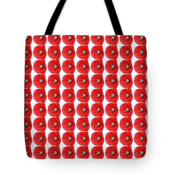 Tote Bag featuring the photograph Beautiful Red Poppy Papaver Rhoeas by Marianne Campolongo