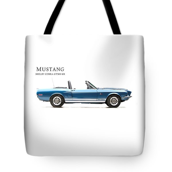 Shelby Cobra Gt500 Kr Tote Bag by Mark Rogan