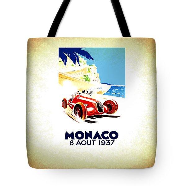 Monaco 1937 Tote Bag