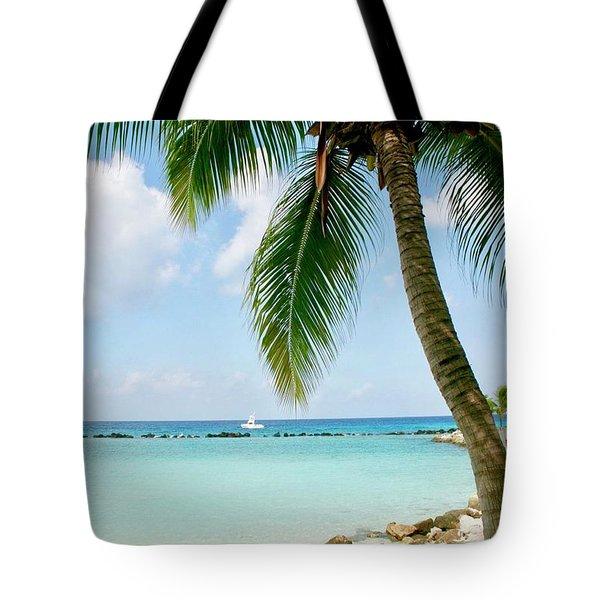 Tote Bag featuring the photograph Aruban Oasis by Monique Faella