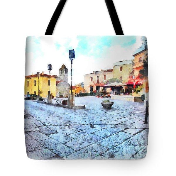 Arzachena Risorgimento Square Tote Bag