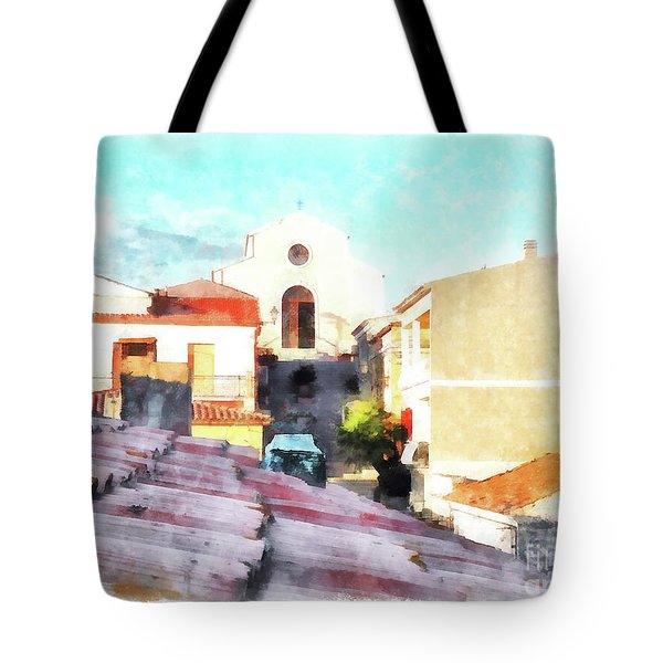 Arzachenaroof And Church Tote Bag