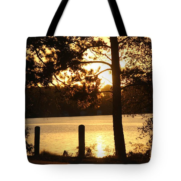 As Another Day Closes Tote Bag