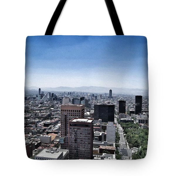As Far As The Eye Can Reach Tote Bag