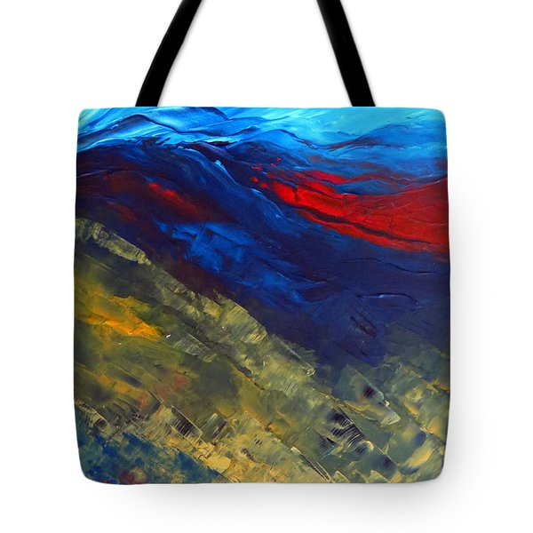 As Far As The Eye Can See Tote Bag by Elizabeth Kendall