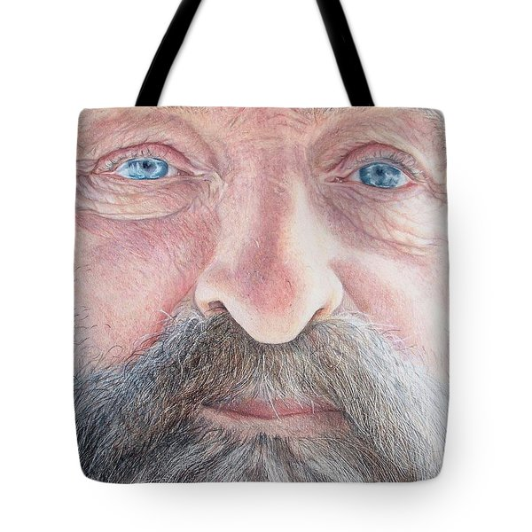 As He Ages Tote Bag