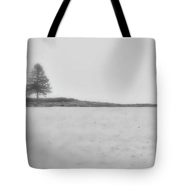 As I Look Out To Sea Tote Bag by Richard Bean