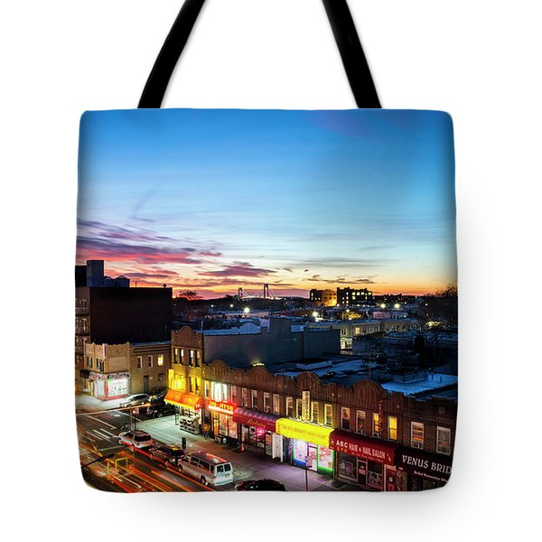 As Night Falls Tote Bag