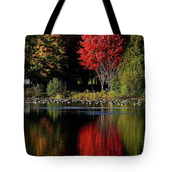 As Red As It Can Be Tote Bag by Aimelle