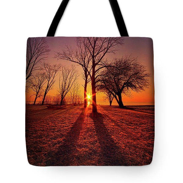 Tote Bag featuring the photograph As Sure As The Sun Will Rise by Phil Koch