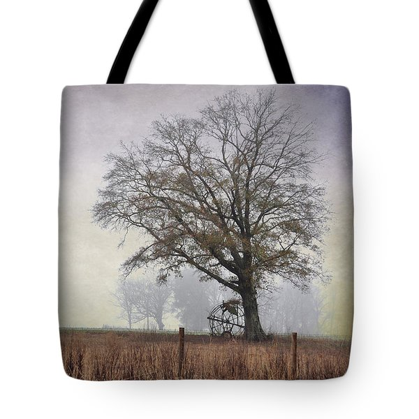 As The Fog Sets In Tote Bag by Jan Amiss Photography