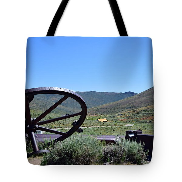 As The Wheel Turns Tote Bag