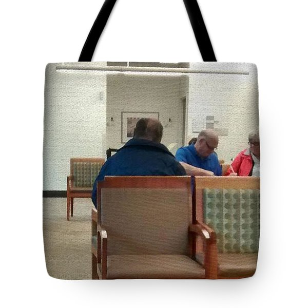 As Time Goes By.... Tote Bag